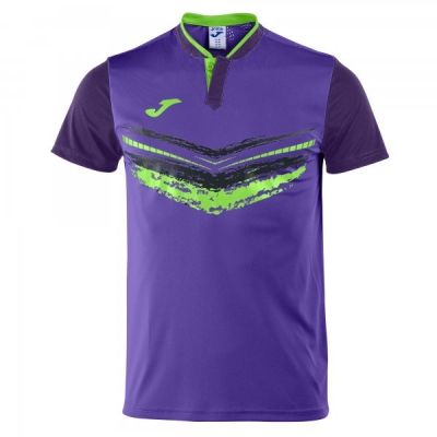 Camasa T- Terra Ii Purple S/s Joma