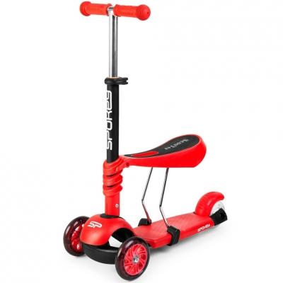 Scooter Spokey Tripla 3in1 red 927100