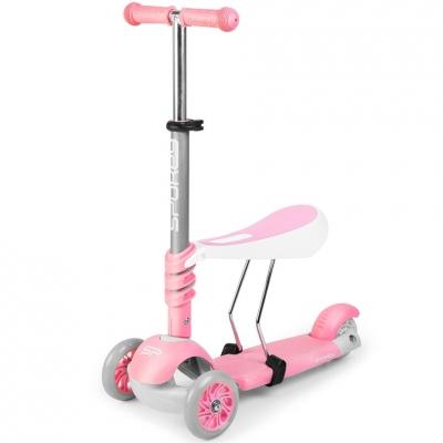 Scooter Spokey Tripla 3in1 pink 927099