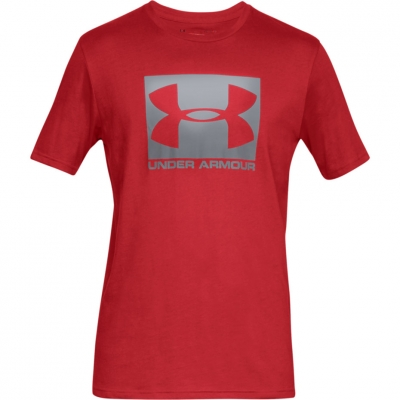 Men's Under Armor Boxed Sportstyle SS red 1329581 600 Under Armour