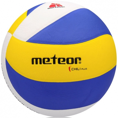 Volleyball Meteor Chilli Plus blue-yellow-white 10078