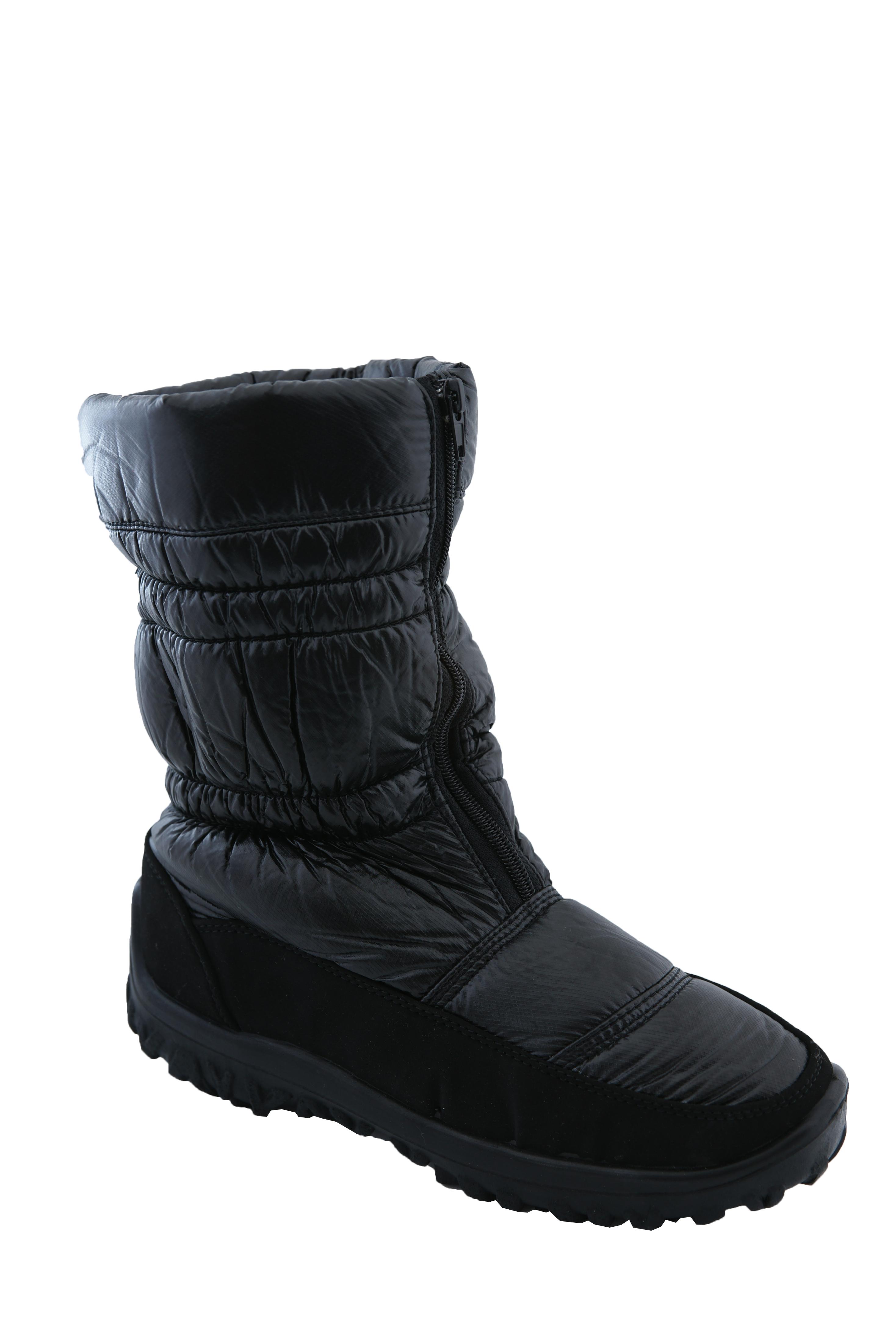 mai bine pe picioare imagini din poze noi Ghete de iarna impermeabile Tellus negre Dama
