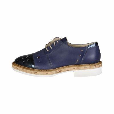 Pantofi siret Made In Italia LETIZIA Albastru