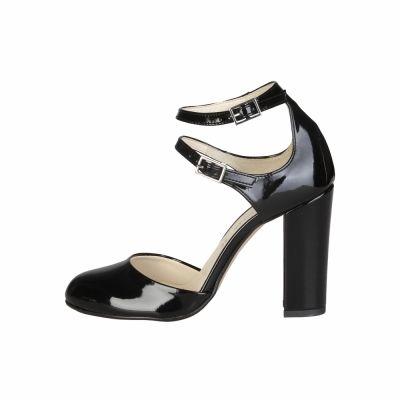 Pantofi cu toc Made In Italia ADA Negru