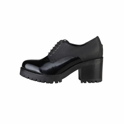 Pantofi siret Ana Lublin ELISABETH Negru